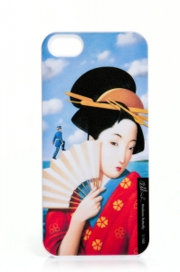 "Etui iPhone 5/5s ""Madame Butterfly"""