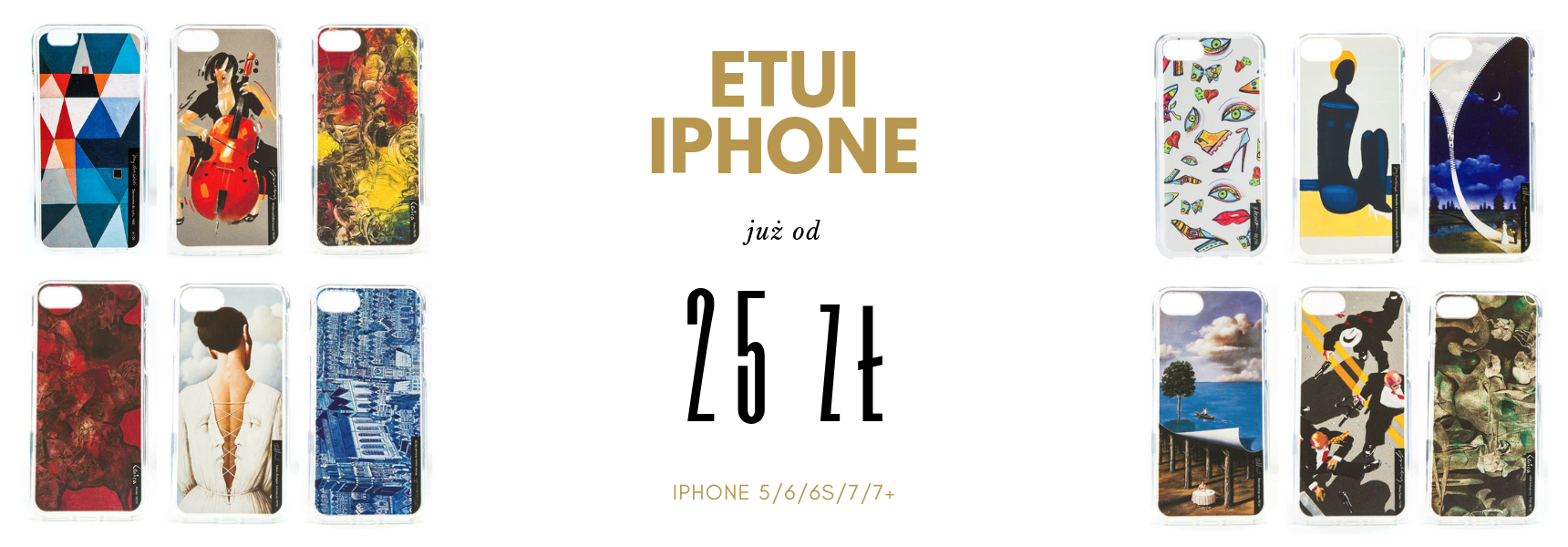 Etui iPhone 5/6/6s/7/7+